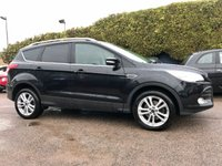 2015 FORD KUGA 2.0 TDCI TITANIUM X 5d  SAT NAV AND FULL LEATHER  £10500.00
