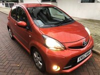 2012 TOYOTA AYGO 1.0 VVT-I FIRE MM AC 5d AUTO 67 BHP SOLD