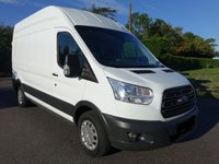 USED 2018 18 FORD TRANSIT 350 L3 H3 LWB HIGHTOP 2.0 TDCI 130 BHP EURO 6 One Company Owner 30000 Miles And Ford Warranty Till June 2021, Very Clean Inside And Out! Viewing Recommended!