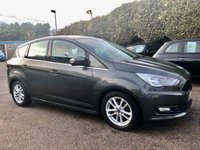 2016 FORD C-MAX 1.5 TDCI ZETEC 5d WITH SAT NAV AND LOW TAX £8250.00