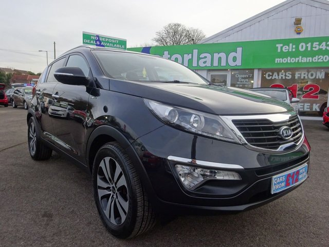 USED 2010 60 KIA SPORTAGE 2.0 CRDI FIRST EDITION 5d 134 BHP **  JUST ARRIVED ** CALL 01543 877320**