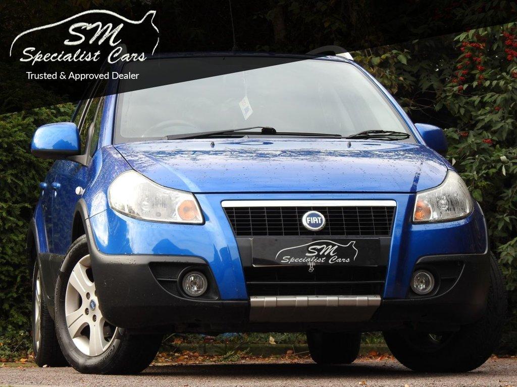 USED 2006 06 FIAT SEDICI 1.6 16V ELEGANZA 5d 106 BHP LOW MILEAGE DRIVES SUPERB VGC