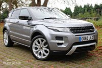 USED 2013 63 LAND ROVER RANGE ROVER EVOQUE 2.2 SD4 DYNAMIC AUTO [LUX PACK] [190 BHP]