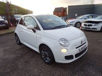 USED 2015 15 FIAT 500 1.2 S DUALOGIC 3d AUTO 69 BHP 3 SERVICE STAMPS 2 FIAT WITH 1 PREVIOUS KEEPER X2 KEYS MANUAL PACK
