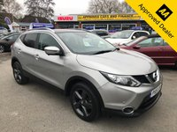 2015 NISSAN QASHQAI 1.2 N-TEC PLUS DIG-T XTRONIC 5d AUTOMATIC 113 BHP IN METALLIC SILVER WITH ONLY 35500 MILES, FULL SERVICE HISTORY, 1 OWNER , GREAT SPEC AND IS ULEZ COMPLIANT  £12499.00