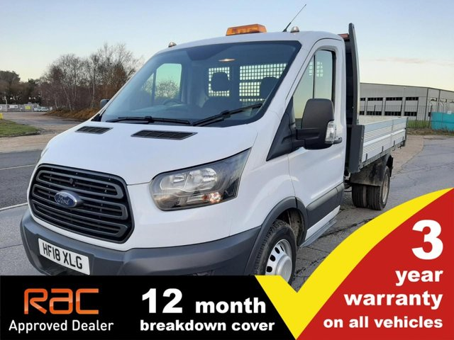 USED 2018 18 FORD TRANSIT TIPPER 350 L2 RWD DRW 1-Stop 130ps