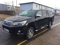 USED 2017 67 TOYOTA HI-LUX Double Cab 2.4 Invincible 4WD D-4D 150ps AUTO