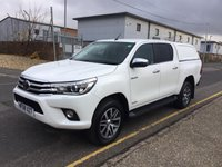 USED 2018 68 TOYOTA HI-LUX Double Cab 2.4 Invincible 4WD D-4D 150ps
