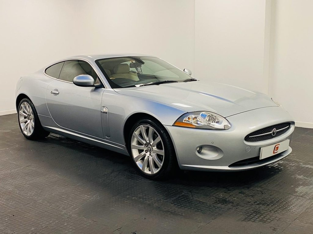 USED 2006 06 JAGUAR XK 4.2 COUPE 2d 294 BHP LOW MILES + SERVICE HISTORY + LEATHER + SAT NAV