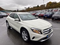 USED 2014 64 MERCEDES-BENZ GLA-CLASS 2.1 GLA220 CDI 4MATIC SE 5d 168 BHP White with Black full leather, Sat Nav & Camera +++