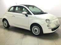 USED 2010 10 FIAT 500 1.2 LOUNGE 3d 69 BHP PAN ROOF | ALLOYS | AIR CON |