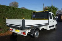 USED 2013 63 VAUXHALL MOVANO 3500 L3 H1 LWB CREWCAB DROPSIDE 2.3DCI 125PS Direct From Ministry Of Defence With Only 10000 Miles! Serviced And Maintained Regardless Of Cost! Fitted With Good Size Alloy Body & Air Con!