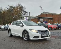 USED 2012 62 HONDA CIVIC 1.8 I-VTEC ES 5d 140 BHP REVERSING CAMERA +   BLUETOOTH *  CRUISE CONTROL +   SERVICE RECORD +  USB AND AUX CONNECTION +