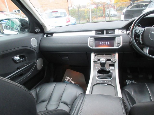 USED 2012 62 LAND ROVER RANGE ROVER EVOQUE 2.2 SD4 PURE TECH 5d 190 BHP ***JUST ARRIVED...TEST DRIVE TODAY***NO DEPOSIT DEALS