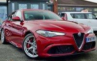 USED 2017 17 ALFA ROMEO GIULIA 2.9 V6 BITURBO QUADRIFOGLIO 4d 503 BHP