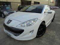 USED 2012 PEUGEOT RCZ 1.6 THP GT 2d 200 BHP Excellent Condition, No Deposit Required, Part Exchange Welcomed
