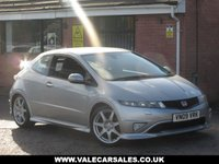 USED 2009 09 HONDA CIVIC 2.0 I-VTEC TYPE-R GT (FULL HISTORY-10 STAMPS) 3dr FULL SERVICE HISTORY - SERVICED EVERY YEAR - 10 STAMPS