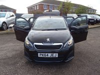 USED 2014 64 PEUGEOT 108 1.0 ACTIVE TOP 5d 68 BHP LOW MILEAGE 6 STAMPS 5 DEALERSHIP PLUS 1 OTHER 3 PREVIOUS KEEPERS X2 KEYS