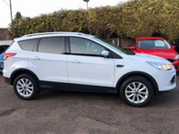 2016 FORD KUGA 2.0 TDCI TITANIUM 5d WITH SAT NAV AND PRIVACY GLASS  SOLD