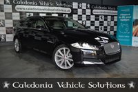 "USED 2013 63 JAGUAR XF 2.2 D PREMIUM LUXURY SPORTBRAKE 5d 200 BHP ONE OWNER PLUS JAGUAR CARS. JAGUAR SERVICE HISTORY. 19""AQUILLA ALLOYS.FRONT AND REAR PARK AID. 1 YEAR MOT"