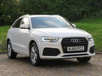 USED 2015 65 AUDI Q3 1.4 TFSI S LINE 5d 148 BHP 1 OWNER, GRADE 1 CONDITION!