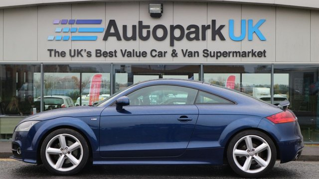 USED 2011 61 AUDI TT 2.0 TFSI S LINE 2d 211 BHP LOW DEPOSIT OR NO DEPOSIT FINANCE AVAILABLE