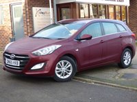 USED 2015 65 HYUNDAI I30 1.6 CRDI SE BLUE DRIVE 5d 109 BHP FULL HYUNDAI SERVICE HISTORY AND ONLY £20 A YEAR TO TAX