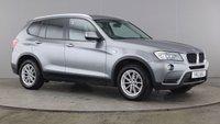 USED 2013 13 BMW X3 2.0 XDRIVE20D SE 5d 181 BHP