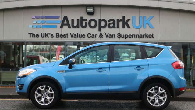 USED 2010 60 FORD KUGA 2.0 ZETEC TDCI 2WD 5d 138 BHP LOW DEPOSIT OR NO DEPOSIT FINANCE AVAILABLE
