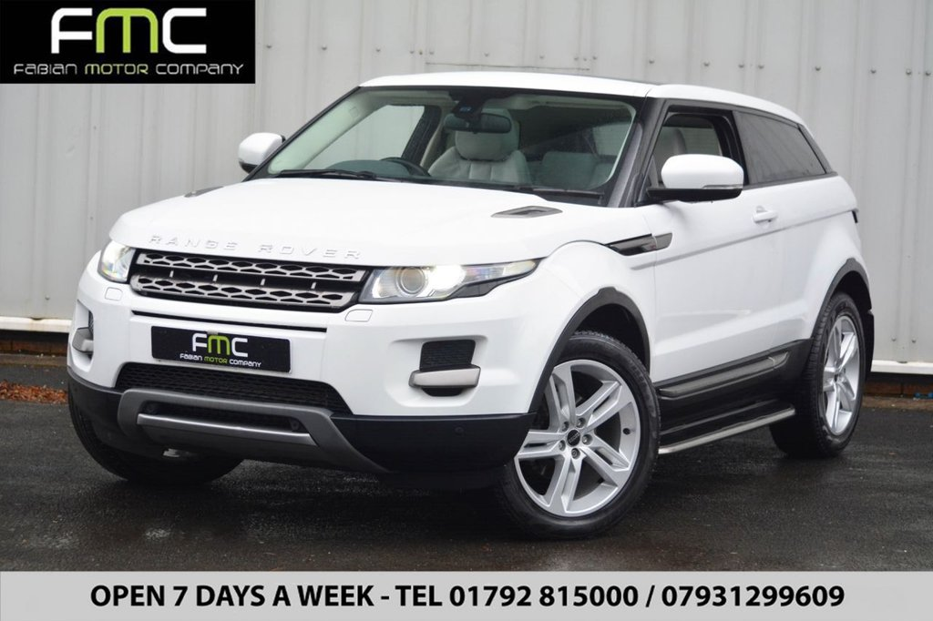 USED 2012 12 LAND ROVER RANGE ROVER EVOQUE  2.2 SD4 Pure Tech 4X4 3dr Part Ex Welcome - Open 7 Days - Finance - 01792 815000