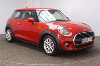 USED 2016 66 MINI HATCH COOPER 1.5 COOPER PEPPER PACK 3DR SAT NAV 134 BHP FULL MINI SERVICE HISTORY + £20 12 MONTHS ROAD TAX + SATELLITE NAVIGATION + CLIMATE CONTROL + DAB RADIO + MULTI FUNCTION WHEEL + ELECTRIC WINDOWS + ELECTRIC MIRRORS  +16 INCH ALLOY WHEELS
