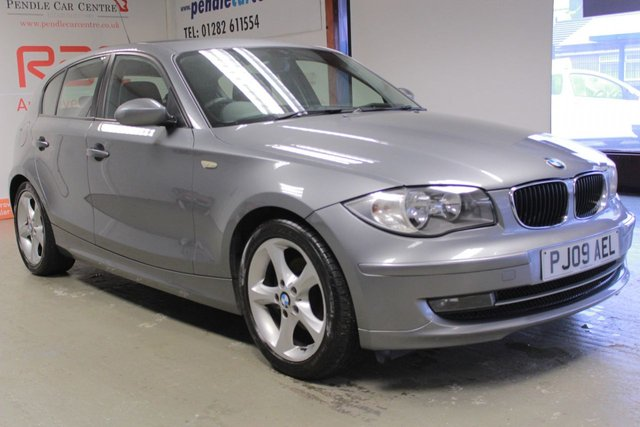 2009 09 BMW 1 SERIES 2.0 118D EDITION ES 5d 141 BHP