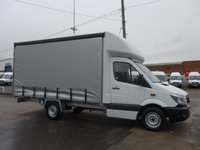 2014 MERCEDES-BENZ SPRINTER 313 CDI MWB AUTOMATIC CURTAIN SIDER, 130 BHP [EURO 5] £13495.00