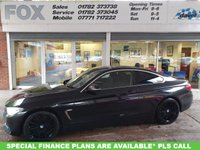 USED 2014 64 BMW 4 SERIES 420D LUXURY COUPE STUNNING BLACK 420 DIESEL LUXURY COUPE