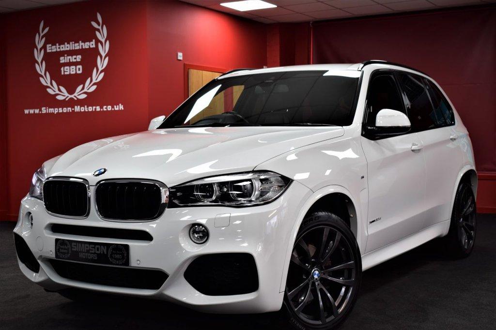 USED 2016 66 BMW X5 3.0 XDRIVE30D M SPORT 5d 255 BHP 7 SEATS