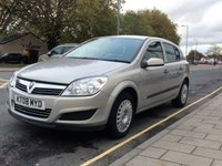 USED 2008 08 VAUXHALL ASTRA 1.8 LIFE A/C 16V E4 5d 140 BHP 77,489 miles, Remote central locking, Remote central locking, air conditioning, PAS,ABS, electric windows, CD player, service history.