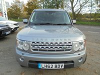 USED 2012 62 LAND ROVER DISCOVERY 3.0 4 SDV6 HSE 5d 255 BHP