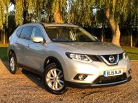 USED 2015 15 NISSAN X-TRAIL 1.6 DCI ACENTA 5d 130 BHP 1 OWNER  GREAT SPEC