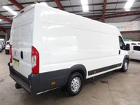 USED 2016 16 PEUGEOT BOXER 2.2 HDI 435 L4H2 PROFESSIONAL P/V 130 BHP EX LWB HI ROOF VAN - AA DEALER PROMISE - TRADING STANDARDS APPROVED -
