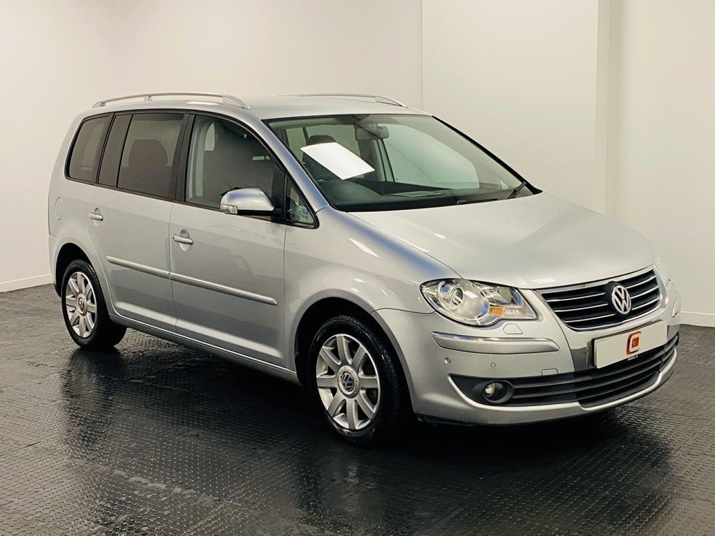 USED 2008 08 VOLKSWAGEN TOURAN 2.0 SPORT TDI 5d 138 BHP 1 OWNER FROM NEW + LOW MILES + SERVICE HISTORY + 7 SEATS