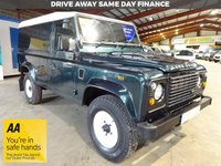 USED 2013 63 LAND ROVER DEFENDER 110 2.2 TD HARD TOP 122 BHP - AA DEALER PROMISE- TRADING STANDARDS APPROVED -