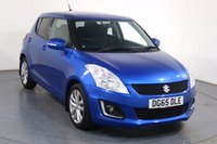 USED 2015 65 SUZUKI SWIFT 1.2 SZ4 5d 94 BHP SATNAV I BLUETOOTH I DAB RADIO