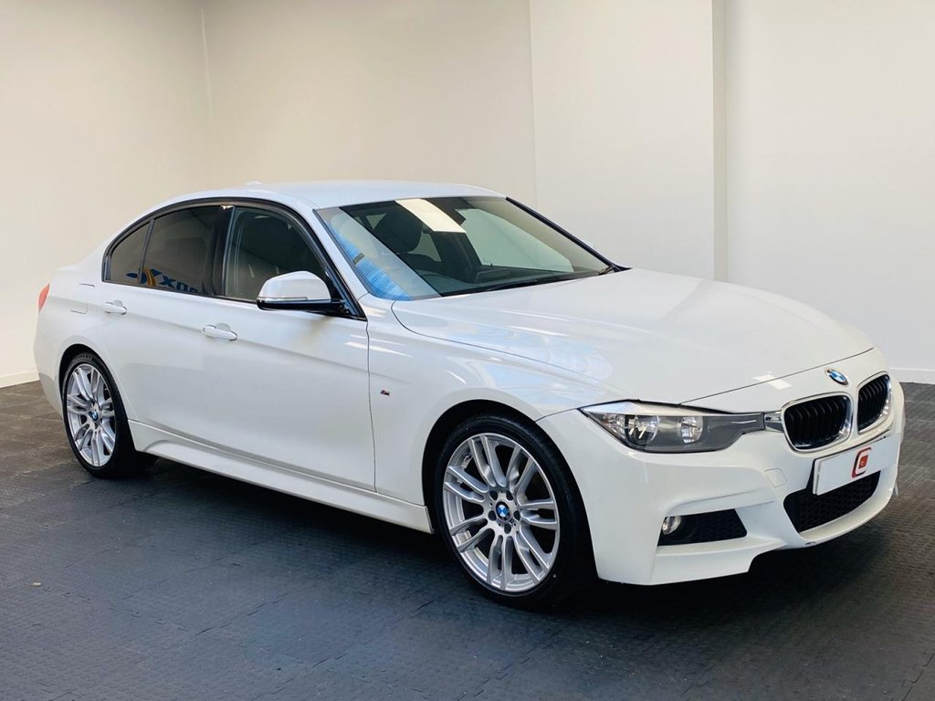 USED 2015 15 BMW 3 SERIES 2.0 320D M SPORT 4d 181 BHP LOW MILES + SERVICE HISTORY + LEATHER + SAT NAV