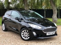 USED 2017 67 FORD FIESTA 1.0 TITANIUM 3d 99 BHP GREAT CONDITION, LOW MILEAGE