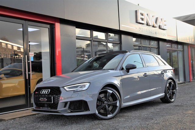 2017 67 AUDI RS3 2.5 RS 3 RS3 QUATTRO 5d 395 BHP FULLY LOADED TO MUCH TO LIST