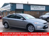 USED 2013 63 FORD MONDEO 1.6 GRAPHITE 5 Door Hypnotic Silver Metallic 16836 miles Great Service History 119 BHP Super Low Mileage Mondeo 1 Owner from New 4 x Service Stamps Front & Rear Parking Sensors