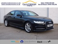 USED 2016 16 AUDI A6 2.0 TDI ULTRA S LINE 4d 188 BHP One Owner Full AUDI History Buy Now, Pay Later Finance!