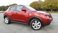 """USED 2011 11 NISSAN JUKE 1.6 ACENTA 5d 117 BHP 2 X KEYS, CLIMATE CONTROL, BLUE TOOTH, 17""""ALLOYS, REMOTE LOCKING, ELECTRIC WINDOWS, METALLIC PAINT, ELECTRIC MIRRORS, CD-PLAYER, NATION WIDE DELIVERY, FINANCE AVAILABLE"""