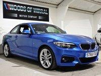 USED 2015 65 BMW 2 SERIES 1.5 218I M SPORT 2d 134 BHP