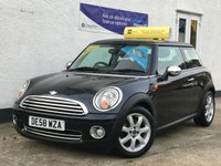 2009 MINI HATCH ONE 1.4 ONE 3d 94 BHP £3695.00